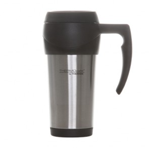 Travel Mug isotherme 45cl inox / noir - Thermocafé - Thermos