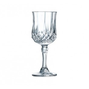 Verre à liqueur à pied 6 cl en cristallin - Longchamp - Eclat Cristal d'Arques