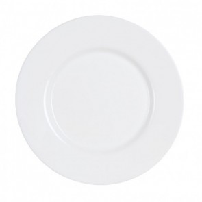 Assiette plate ronde blanche 24 cm - lot de 6 - Everyday - Luminarc
