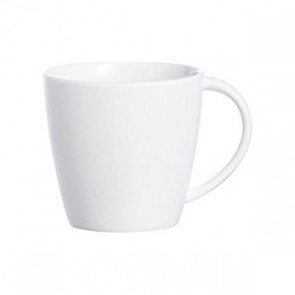 Tasse a anse a the / cafe 12cl en porcelaine blanche - Olea - Chef & Sommelier
