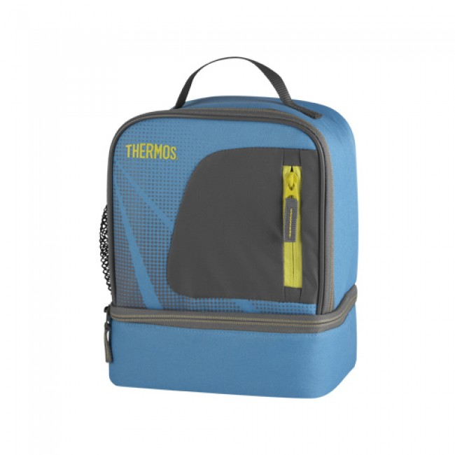sac isotherme lunch bag dual compartiment turquoise radiance thermos. Black Bedroom Furniture Sets. Home Design Ideas