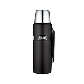 Bouteille isotherme inox 1.2L noir mat - King - Thermos
