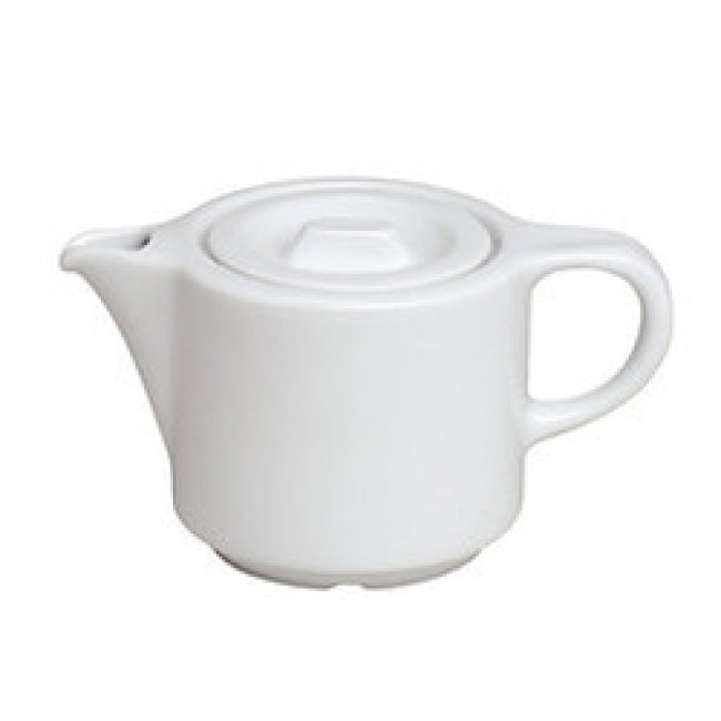 Théière Europe blanche 35cl en porcelaine - Europe - Pillivuyt