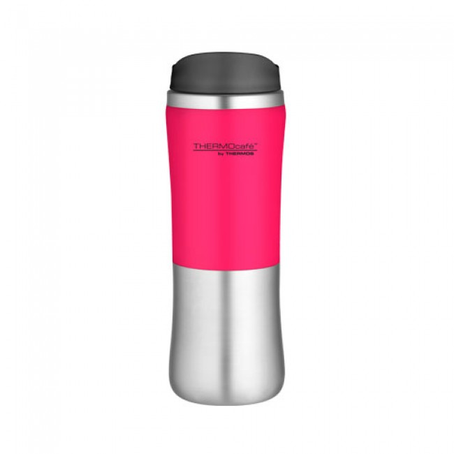 mug tumbler isotherme 30cl inox rose brilliant thermos. Black Bedroom Furniture Sets. Home Design Ideas
