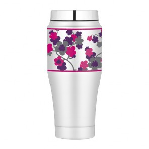 Mug tumbler 47cl cherry blossom - Fashion - Thermos