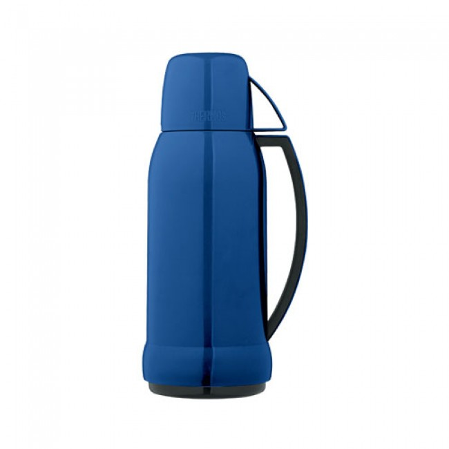 bouteille isotherme 1l bleu nice thermos. Black Bedroom Furniture Sets. Home Design Ideas