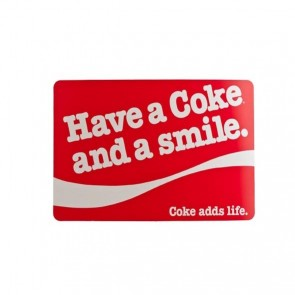 Set de table Coca Cola PVC 43x30cm - Rouge Smile - Coca Cola - Cosy & Trendy