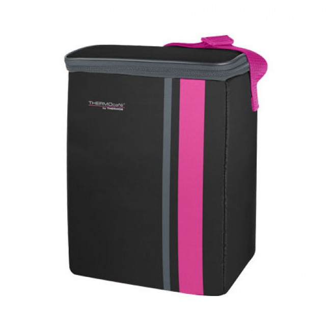 Sac isotherme 9L noir et rose - Neo - Thermos