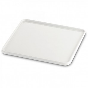 Plateau rectangulaire GN 1/2 32.5X26.5cm blanc en porcelaine - Evento - Guy Degrenne