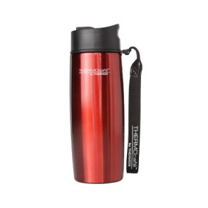 Mug tumbler isotherme 35cl rouge avec dragonne - Urban - Thermos