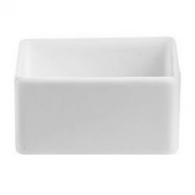 Coupelle carrée 6cl en porcelaine 6 x 6cm blanche - Purity Divinity - Chef & Sommelier