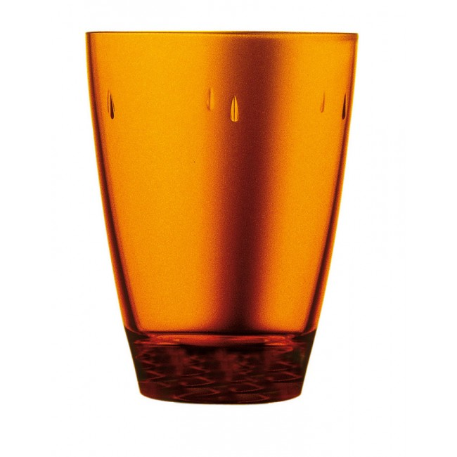 Gobelet ambre 45cl en polycarbonate - Lot de 6