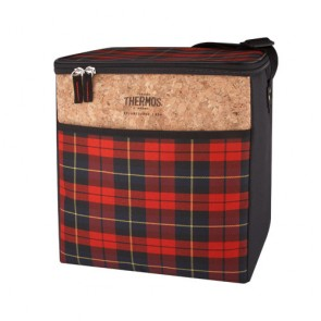 Sac isotherme 16L tissu écossais rouge - Heritage - Thermos