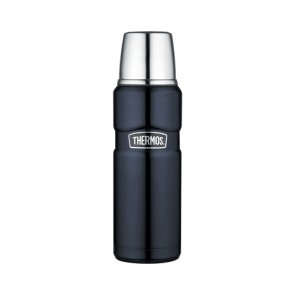 Bouteille isotherme inox 47cl bleu - King - Thermos