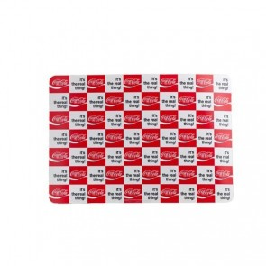 Set de table Coca Cola PVC 43x30cm - Rouge damier rouge et blanc - Coca Cola - Cosy & Trendy