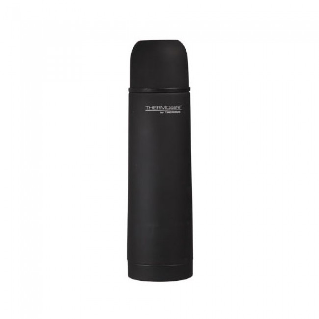 bouteille isotherme inox 50cl caoutchou noir everyday thermos. Black Bedroom Furniture Sets. Home Design Ideas