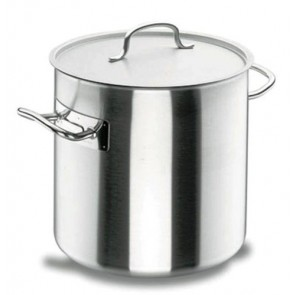 Marmite traiteur induction à couvercle inox 18/10 - Ø 16 cm - Chef Classic - Lacor