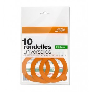 Set de 10 rondelles universelles 85mm - super - le parfait