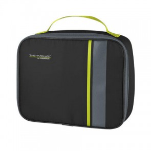 sac repas isotherme noir et lime - Neo - Thermos